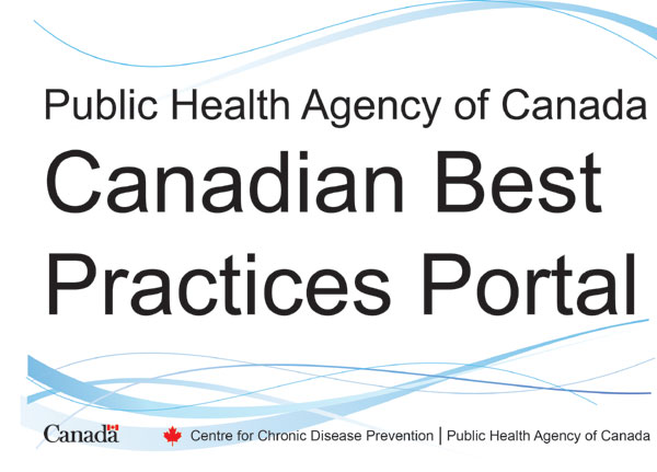Public Health Agency of Canada Canadian Best Practices Portal